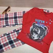 Германия!!! Суперовая пижама для мальчика! 110/116!