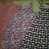 Платья H&M,TU на 5-6 лет (одно на выбор).
