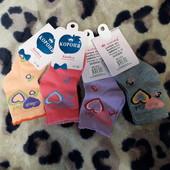Лот 4 пары носков для девочек, пишут размер 21-26