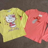 Kiki&kiko реглан батник лонгслив девочке 116-122см 6-7л футболка с длинным рукавом новая