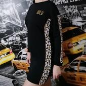 Плотное платье-туника на осень! Фирменное Рерсо! рост 158-164 на размер S! можно подростку!