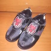 Кожаные туфли для мальчика, Размер 33,стелька 21
