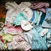 Пакет речей на дівчинку 0-3 місяці 30шт.