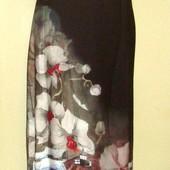 Распродажа!Шикарное, натуральное, легкое макси платье ,Salkim, Турция , Вискоза - 100 % , р . 52
