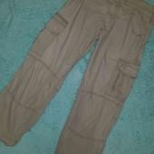 Крутые мужские штаны с карманами,размер 34
