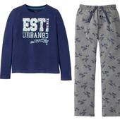 Хлопковая пижама на мальчика Pepperts Германия размер 134/140