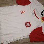Спортивные футболки для физкультуры на подростка, размер 158-164 см.