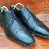 Кожаные туфли,броги,туфлі от other events,cuoio originale,lavorazione artigianale,италия!