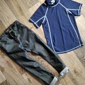 Стильные джинсы + футболка в подарок на худенького мальчика