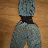 Летний лёгкий шифоновый костюм 92см