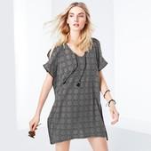 ☘ Стильная блуза-туника, парео для пляжа от Tchibo(Германия), универсальный, 44/46 евро