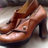 Туфли Итальянские кожаные