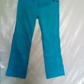 !!! Обалденные летние брюки цвета бирюзы.Смотрите замеры.