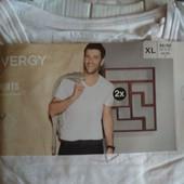 Набор 2 шт. Отличная фирменная мужская футболка от Livergy Новая