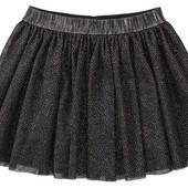 Нарядная фатиновая юбка р. 98-104 см