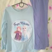 Пижама Frozen,коттон,6-7 лет