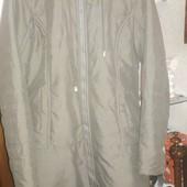 Куртка на тонкому сантипоні Zoe, колір хакі.