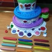 Мега-Модулін - повністю натуральний матеріал для ліплення з Play-doh: 10 кольорів! Можна сушити.