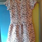Платье утепленное kiabi ( 138-143 см)