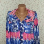 Очень красивая блуза в идеальном состоянии р-р 52