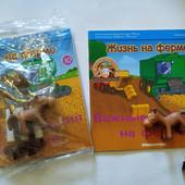 Животные на ферме Василия и Василисы (журнал + игрушки)