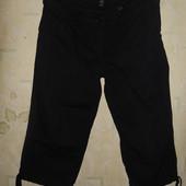 Вельветовые бриджи H&M (Эйч энд Эм) р.-50 цвет черный