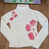 Не пропустите!!!Шикарный теплый нарядный свитерок на девочку 9-15 лет