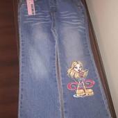 Моднячі джинси для дівчинки, нові, сток!