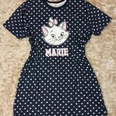 Фирменное прикольное платье для дома, ночная сорочка на 54-56р наш
