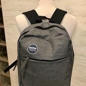 Nivea Men! Новый рюкзак в мышином! Без дефектов!