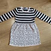 платье Lupilu, размер 110/116, нюанс!