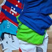Футболки шорты 152 лот