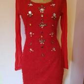 Красивое яркое праздничное платье Yes Miss, Италия, оригинал. размер M