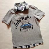 Стильная футболка Palomino на рост 140, хлопок