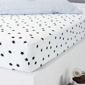 Джерси простыня на детскую кровать Tchibo Германия, размер 90*135
