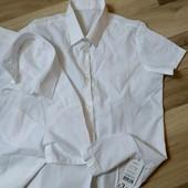 Две новые фирменные рубашки George, размер 122-128