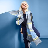 Легкий шарф/шаль от Tchibo (Германия), размер 200*100 см