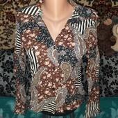 Оригинальная блуза-рубашка!)