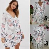 Платье с имитацией запаха