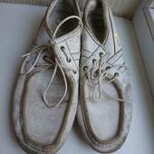спортивные белые тертые туфли стелька 29см