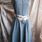 Красивое фактурное платье - сарафан H&M! Размер eur 36, рост 165 см!!!
