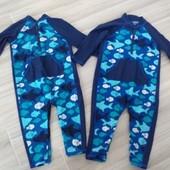 Купальный костюм с защитой уф на 12мес