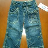Нові модні джинси для хлопчика, р.80