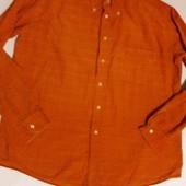 Рубашка в тонкий рубчик от немецкого бренда mcneal