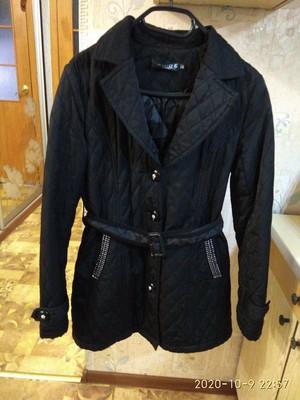 Шикарная стёганая удлиненная курточка.