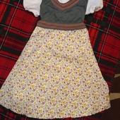 Карнавальное платье 7-9 лет