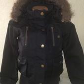 Демисезонная куртка для девочки. На рост 140