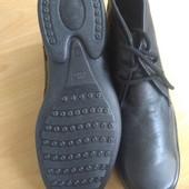 Шкіряні демісезонні черевики, 27,5 см + подарунок! НОВІ. Італія