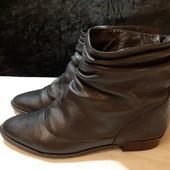 Деми ботинки из нат. кожи Dune, разм. 38 (25 см внутри). Сост. хорошее!