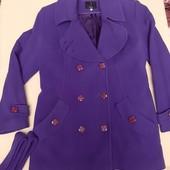 Пальто кашемировое теплое 50-52р